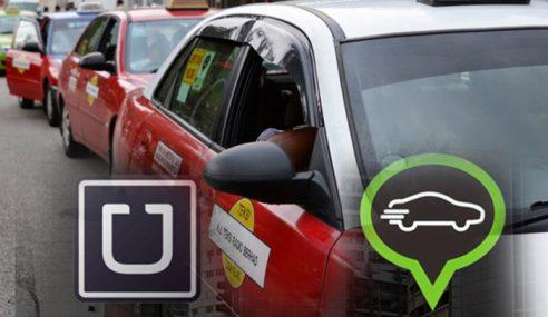 Uber & Grabcar: Pendapatan Pemandu Teksi Kurang 30%