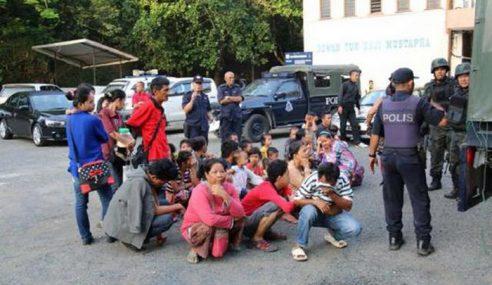 Op Kesan Pengganas: 290 Warga Asing Diperiksa