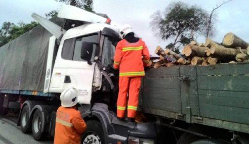 Pemandu Treler Maut, Kelindan Parah Kemalangan