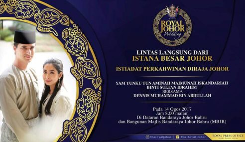 Lintas Langsung Istiadat Kahwin Tunku Tun Aminah