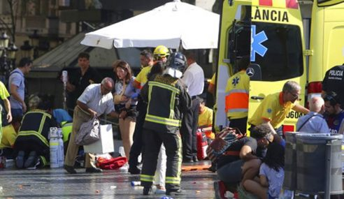 13 Maut Di Barcelona, Polis Tembak Mati 4 Suspek