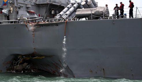 Semua Mayat Anak Kapal USS John S McCain Ditemui