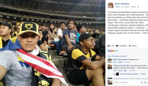 Lelaki Indonesia Ini Tak Jadi Kutuk Malaysia Lepas…