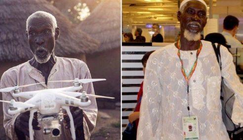 Dron Bawa Lelaki Miskin Ghana Ini Tunai Haji
