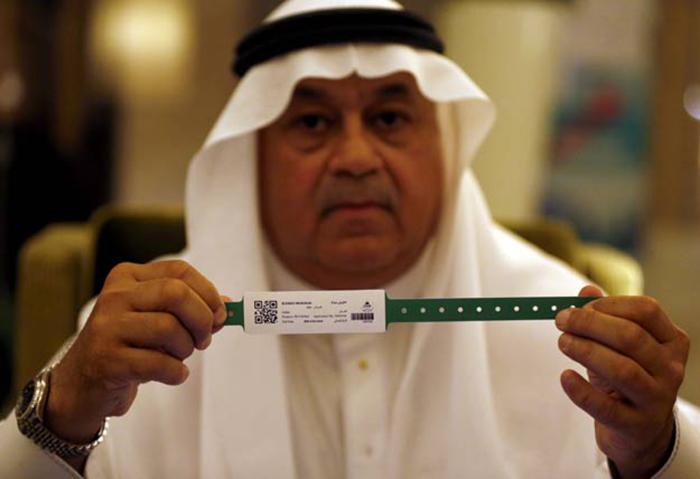 Jemaah Haji Wajib Pakai Gelang Khas Arab Saudi