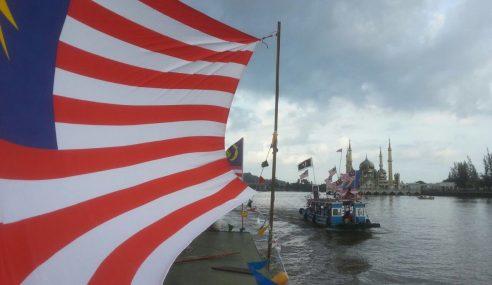 Terengganu Julung Kali Paragliding Rai Merdeka 12 Ogos