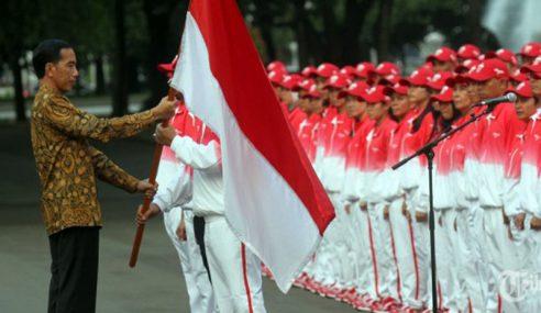 Jokowi Mahu Isu Bendera Terbalik Tak Diperbesarkan