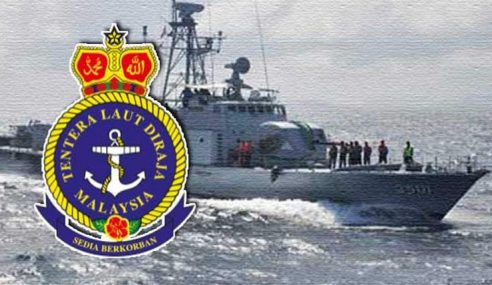 Kapal TLDM Lengkap 'Missile' Kawal Dekat Batu Puteh