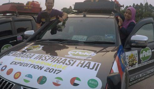 Konvoi Kembara Haji Bertemu Warga Uzbek Fasih Melayu