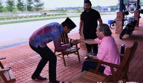 Isu Cabar Lawan Polo: KJ Menghadap Sultan Johor