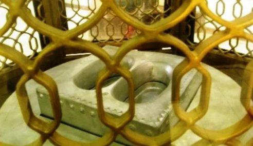 Kisah Tapak Kaki Nabi Ibrahim Pudar Ratusan Tahun