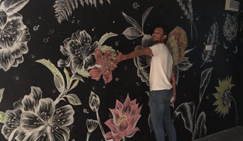 Sweet… Qi Terima Surprise Mural Dilukis Kekasih