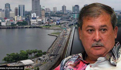 Sultan Johor 'Tegur' Laluan RTS Tutup Panorama JB