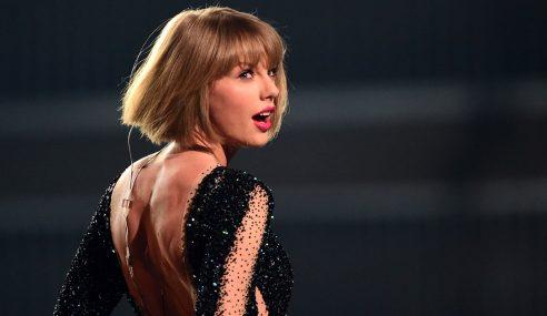 Punggung Diraba, Taylor Swift Hanya Tuntut RM4