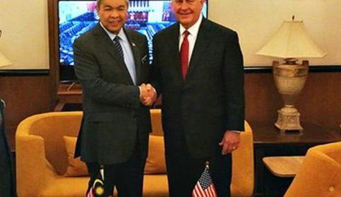 Isu Keselamatan Antara Perbincangan TPM, Tillerson