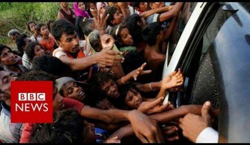 3 Lagi Balai Polis Di Rakhine, Myanmar Dibakar Pengganas