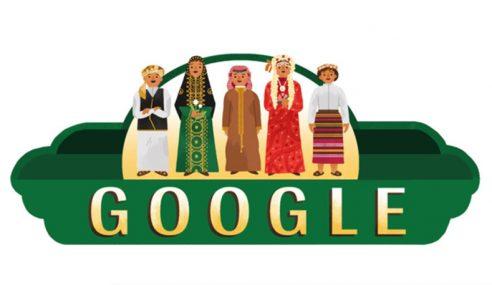 Doodle Khas Sempena Hari Kebangsaan Arab Saudi