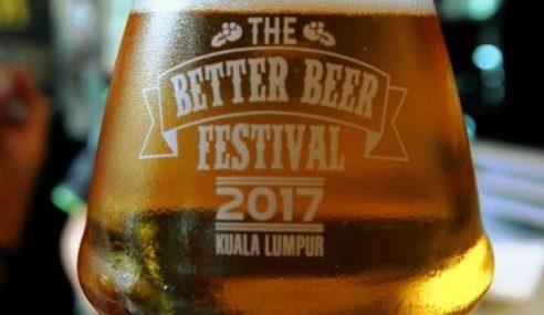 DBKL Tolak Penganjuran 'Better Beer Festival 2017'