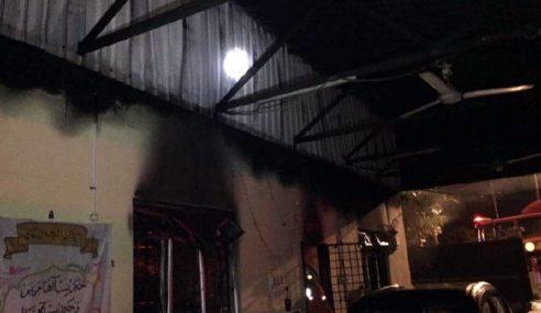 Asrama Sekolah Tinggi Islam Di Rembau Terbakar