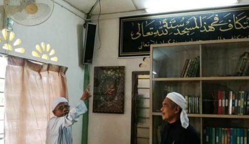 CCTV Masjid Pun Nak Juga Dikebas?