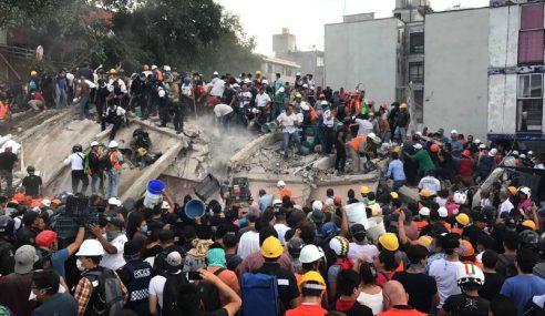 138 Maut Gempa Bumi Kuat Di Mexico City