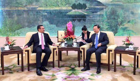 Hishammuddin Ke China Tinjau Dua Kapal LMS
