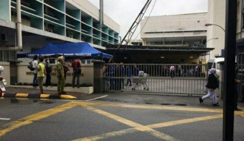 Solat Jenazah Mangsa Kebakaran Di Masjid HKL
