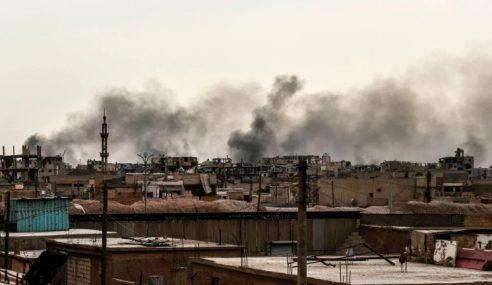Iran Serang Pangkalan Militan Daesh Di Syria