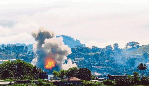 Pusat Kawalan Daesh Di Marawi Ditawan Tentera