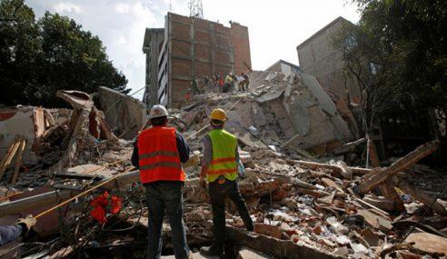 Angka Korban Gempa Di Mexico Cecah 333 Orang