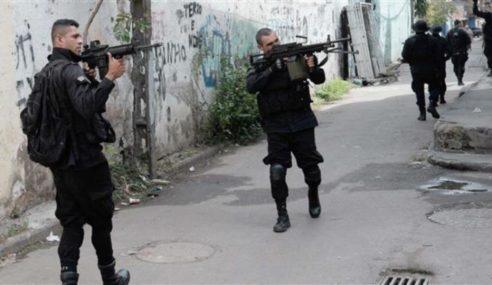 Polis Brazil Tembak Mati 10 Suspek Disyaki Perompak