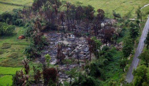 Tentera Myanmar Kelar Leher, Bakar Etnik Rohingya