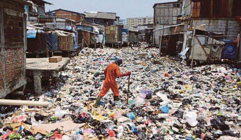 Pamer Gambar Orang Buang Sampah Di Jakarta
