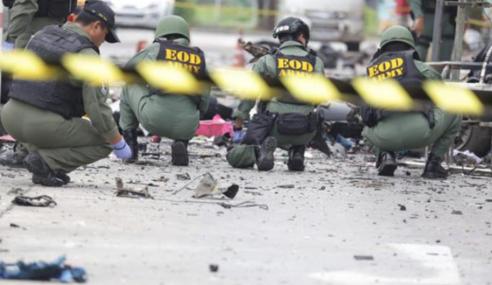 4 Renjer Maut Letupan Bom Di Selatan Thailand