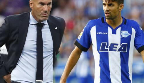 La Liga: Zinedine Zidane & Anak Berentap