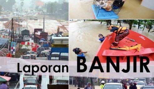 Mangsa Banjir Di Kuala Selangor Meningkat