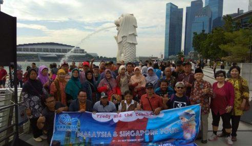 Bekas Murid Belanja 65 Gurunya Cuti Luar Negara