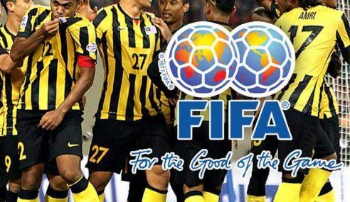 Malaysia Kekal Kedudukan Ke-166 Ranking FIFA