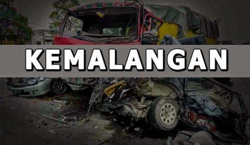 2 Maut, 7 Cedera Kemalangan Di Muadzam Shah