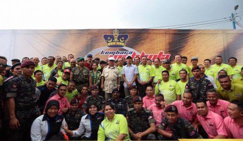 Kembara Mahkota Johor Berakhir 808 Kilometer