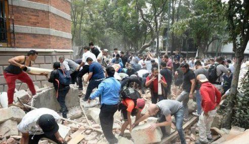 Rakyat Malaysia Selamat Gempa Dahsyat Mexico