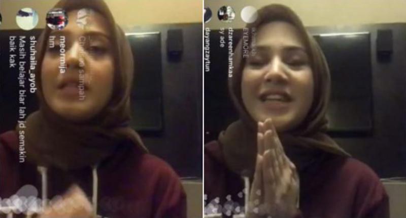 Fathia Nangis Di Insta Live, Dakwa Difitnah