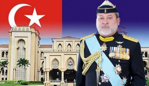 Gelaran Sultan Johor Dalam Bahasa Inggeris Diubah