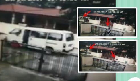 Video: Budak 12 Tahun Nyaris Diculik 'Van Putih'