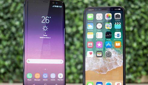 Galaxy S8 Telefon Pintar Terbaik Atasi iPhone 8