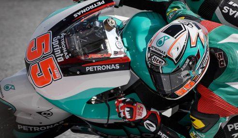 Moto2: Hafizh Syahrin Bermula Di Barisan Keempat
