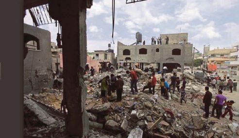 Zionis Musnahkan Pangkalan Luar Hamas