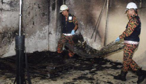 Asrama Akademi Tahfiz Ihya Ul-Quran Terbakar