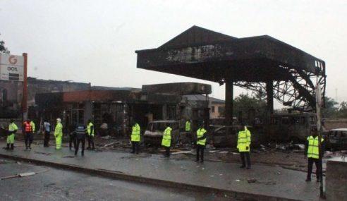 Dua Letupan Di Ibu Kota Ghana Cetus Panik