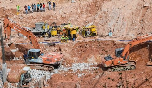 Tanah Runtuh: Operasi Cari, Selamat Mangsa Diteruskan